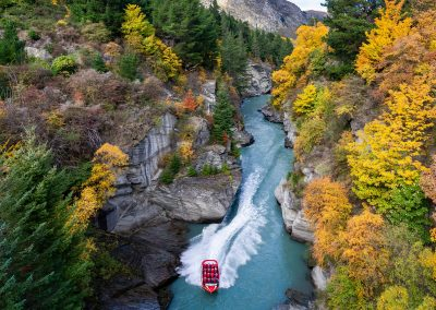 Shotover Jet, T10 Boat Launch